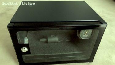 【DTM】湿気に弱いレコーディングマイクの管理はデジケーターにおまかせ!